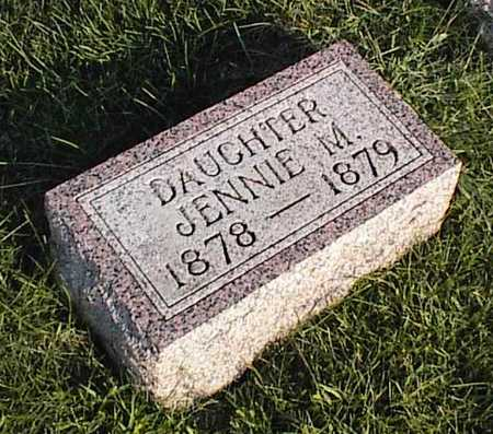 BREYFOGLE, JENNIE M. - O'Brien County, Iowa | JENNIE M. BREYFOGLE
