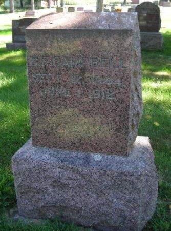 CAMPBELL, BENJAMIN F. - O'Brien County, Iowa | BENJAMIN F. CAMPBELL