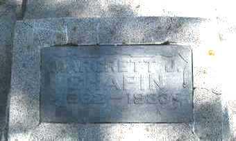 CHAPIN, MARGRETT J - O'Brien County, Iowa | MARGRETT J CHAPIN