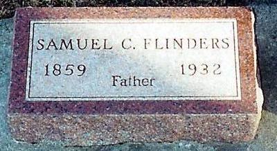 FLINDERS, SAMUEL CHALLAND - O'Brien County, Iowa   SAMUEL CHALLAND FLINDERS