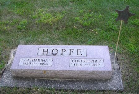HOPFE, CATHARINA - O'Brien County, Iowa | CATHARINA HOPFE