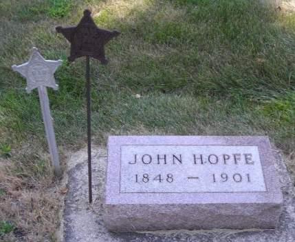 HOPFE, JOHN - O'Brien County, Iowa | JOHN HOPFE