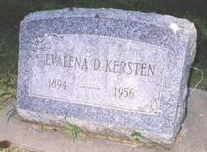 KERSTEN, EVALENA - O'Brien County, Iowa | EVALENA KERSTEN