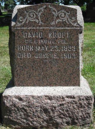 KROFT, DAVID - O'Brien County, Iowa | DAVID KROFT