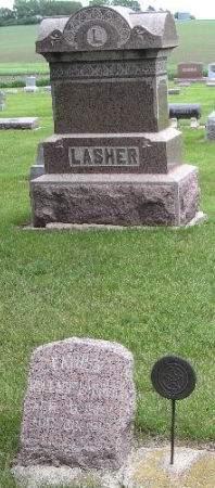 LASHER, WALLACE - O'Brien County, Iowa | WALLACE LASHER