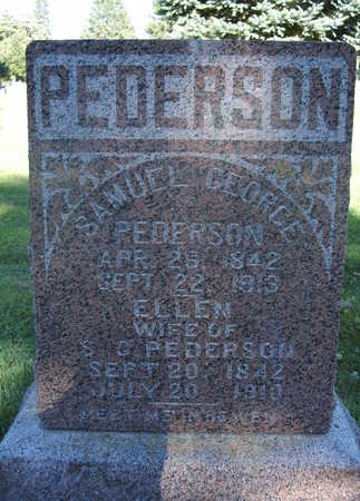 PEDERSON, SAMUEL GEORGE - O'Brien County, Iowa | SAMUEL GEORGE PEDERSON