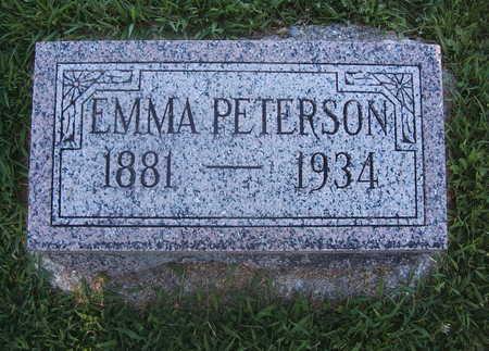 PEDERSON PETERSON, EMMA - O'Brien County, Iowa | EMMA PEDERSON PETERSON