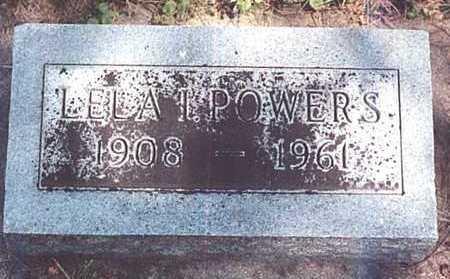 POWERS, LELA IHLE - O'Brien County, Iowa | LELA IHLE POWERS