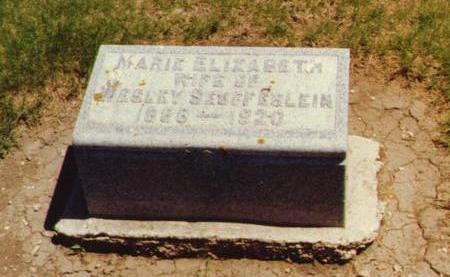 SEUFFERLEIN, MARIE ELIZABETH - O'Brien County, Iowa   MARIE ELIZABETH SEUFFERLEIN