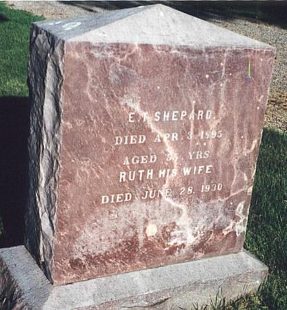SHEPARD, EDWIN THORNTON - O'Brien County, Iowa | EDWIN THORNTON SHEPARD