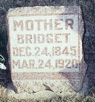 LEAHY SWEENEY, BRIDGET - O'Brien County, Iowa | BRIDGET LEAHY SWEENEY
