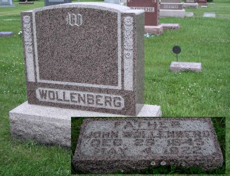 WOLLENBERG, JOHN - O'Brien County, Iowa | JOHN WOLLENBERG
