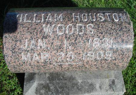 WOODS, WILLIAM HOUSTON - O'Brien County, Iowa | WILLIAM HOUSTON WOODS