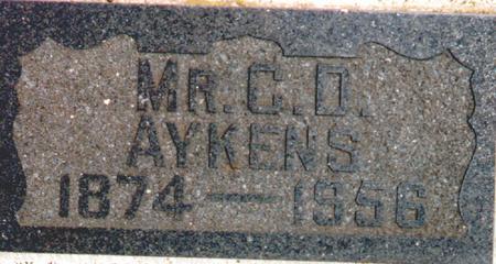AYKENS, CORNELIUS D. - Osceola County, Iowa | CORNELIUS D. AYKENS