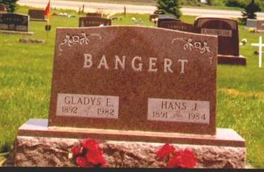 LEAMER BANGERT, GLADYS - Osceola County, Iowa | GLADYS LEAMER BANGERT