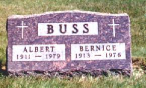 BUSS, BERNICE - Osceola County, Iowa | BERNICE BUSS