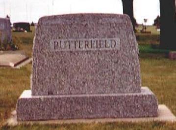 BUTTERFIELD, MINNIE - Osceola County, Iowa | MINNIE BUTTERFIELD
