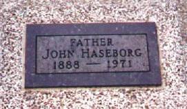 HASEBORG, JOHN - Osceola County, Iowa | JOHN HASEBORG