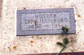HASEBORG, LENA - Osceola County, Iowa | LENA HASEBORG