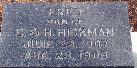 HICKMAN, FRED - Osceola County, Iowa | FRED HICKMAN