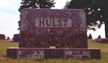 HULST, HENRY H - Osceola County, Iowa | HENRY H HULST