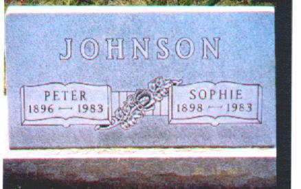 JOHNSON, PETER - Osceola County, Iowa | PETER JOHNSON