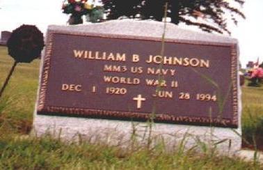 JOHNSON, WILLIAM B - Osceola County, Iowa | WILLIAM B JOHNSON