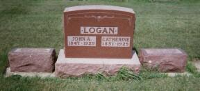 LOGAN, CATHERINE AGNES - Osceola County, Iowa | CATHERINE AGNES LOGAN