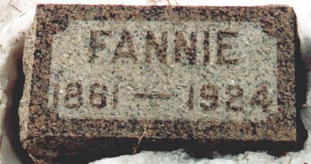 MUENTINGA, FANNIE - Osceola County, Iowa | FANNIE MUENTINGA