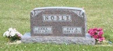 NOBLE, ANNA - Osceola County, Iowa | ANNA NOBLE