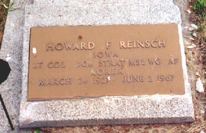 REINSCH, HOWARD F - Osceola County, Iowa | HOWARD F REINSCH