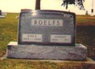 ROELFS, HARMKE - Osceola County, Iowa | HARMKE ROELFS
