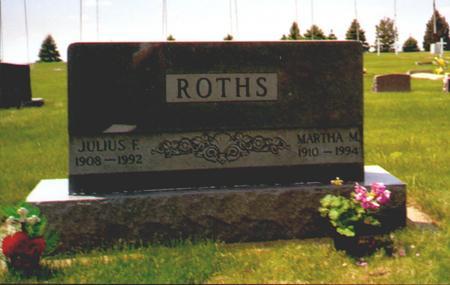ROELFS ROTHS, MARTHA - Osceola County, Iowa | MARTHA ROELFS ROTHS