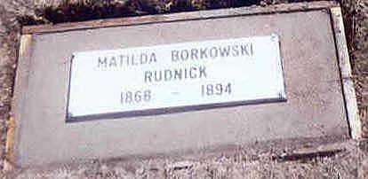 RUDNICK, MATILDA - Osceola County, Iowa | MATILDA RUDNICK