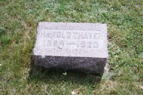 THAYER, HAROLD - Osceola County, Iowa | HAROLD THAYER