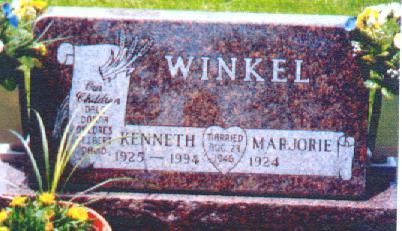 WINKEL, KENNETH - Osceola County, Iowa   KENNETH WINKEL