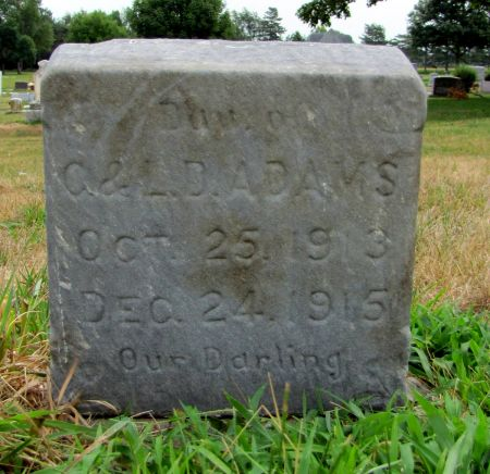 ADAMS, CLARA L - Page County, Iowa | CLARA L ADAMS