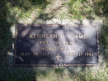 ADAMS, KENNETH D. - Page County, Iowa | KENNETH D. ADAMS