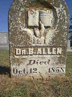 ALLEN,  B., DR - Page County, Iowa |  B., DR ALLEN