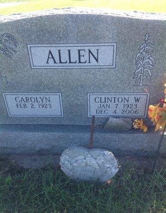 ALLEN, CLINTON - Page County, Iowa   CLINTON ALLEN