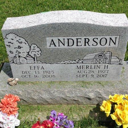 ANDERSON, EFFA - Page County, Iowa   EFFA ANDERSON