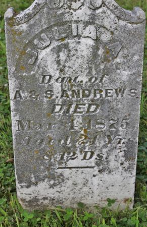 ANDREWS, JULIA A - Page County, Iowa | JULIA A ANDREWS