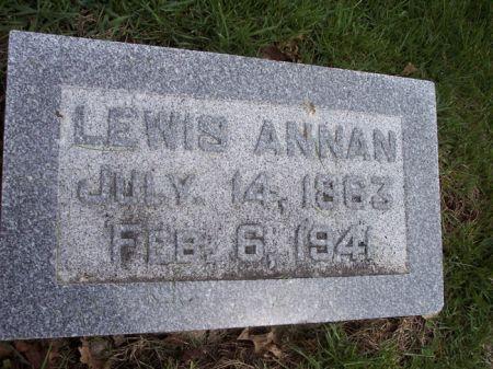 ANNAN, LEWIS - Page County, Iowa   LEWIS ANNAN