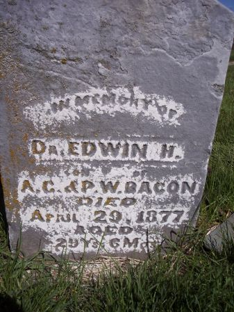 BACON, EDWIN H., DR - Page County, Iowa | EDWIN H., DR BACON