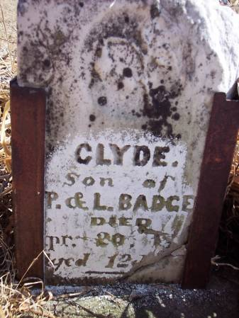 BADGER, CLYDE - Page County, Iowa | CLYDE BADGER