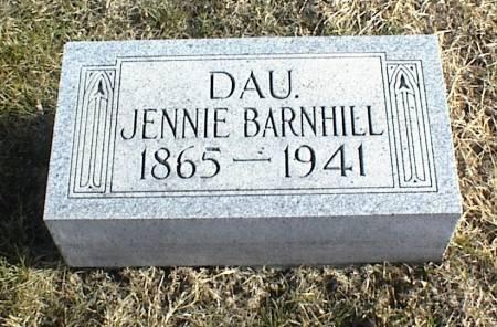 BARNHILL, JENNIE - Page County, Iowa | JENNIE BARNHILL