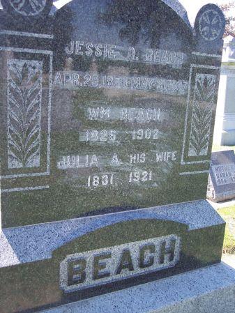 BEACH, JULIA A. - Page County, Iowa   JULIA A. BEACH
