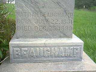 BEAUCHAMP, NATHAN - Page County, Iowa   NATHAN BEAUCHAMP