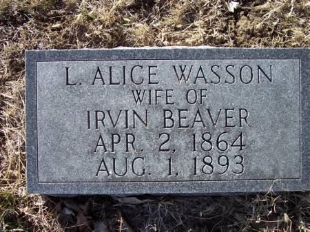 BEAVER, L. ALICE - Page County, Iowa | L. ALICE BEAVER