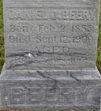 BEERY, DANIEL J - Page County, Iowa | DANIEL J BEERY